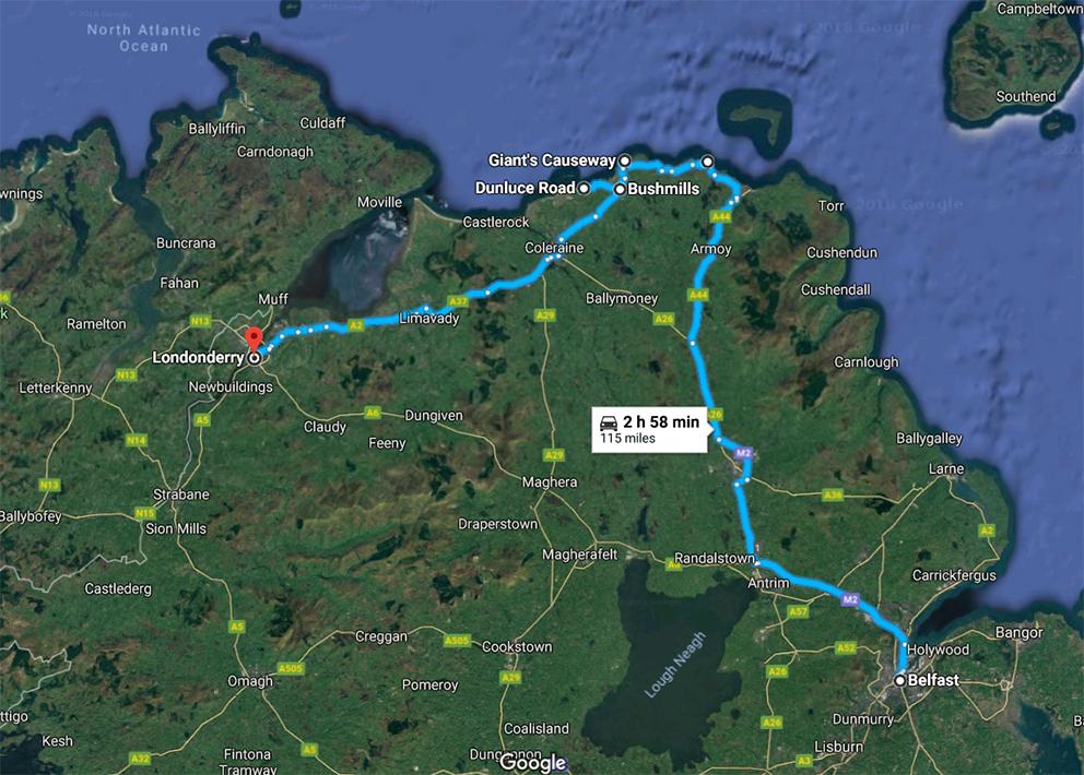 I viaggi della Patta - Irlanda - Itinerario giorno 2