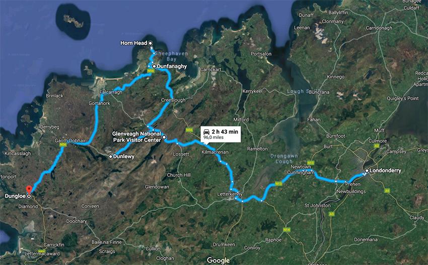I viaggi della Patta - Irlanda - Itinerario giorno 3