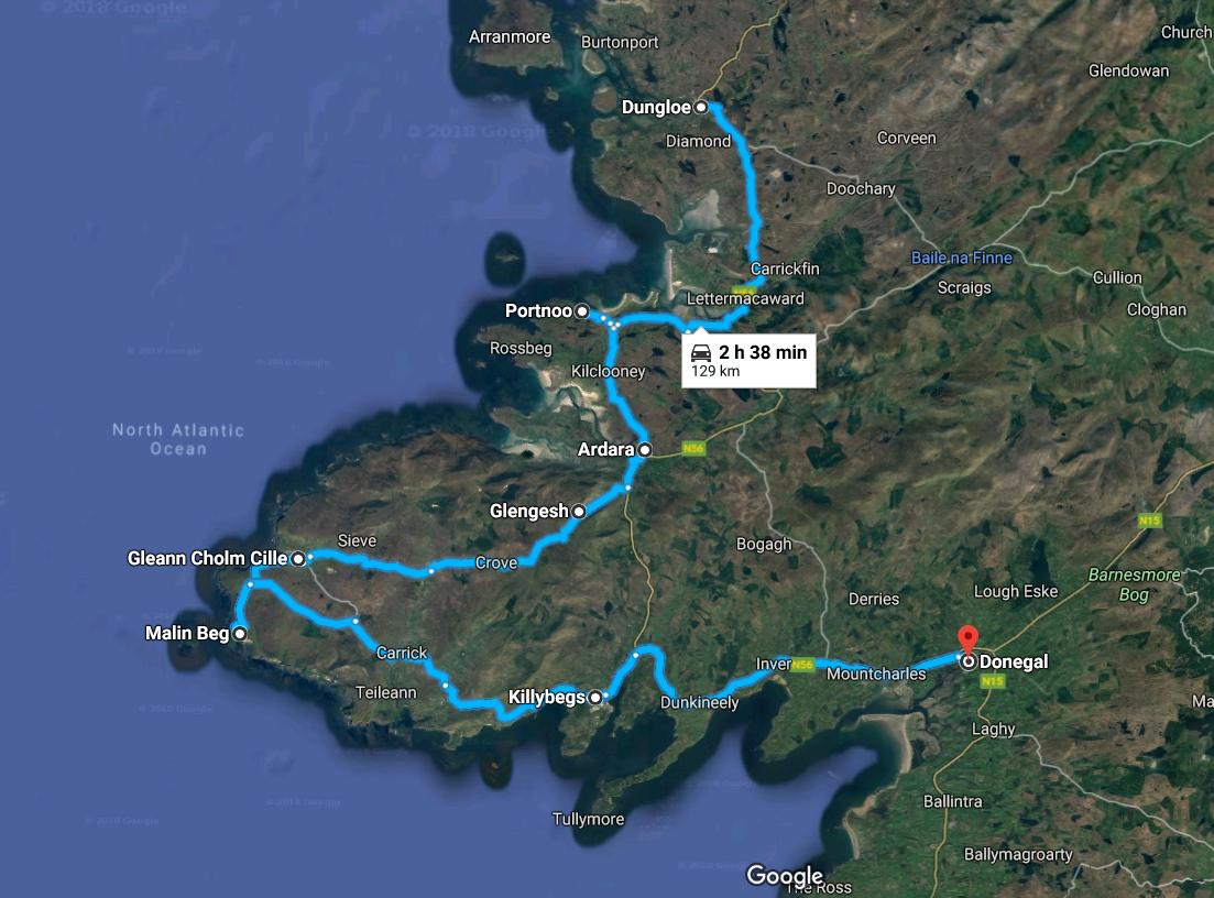 I viaggi della Patta - Irlanda - Itinerario giorno 4
