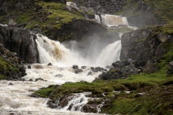 Le cascate che portano a Gufufoss