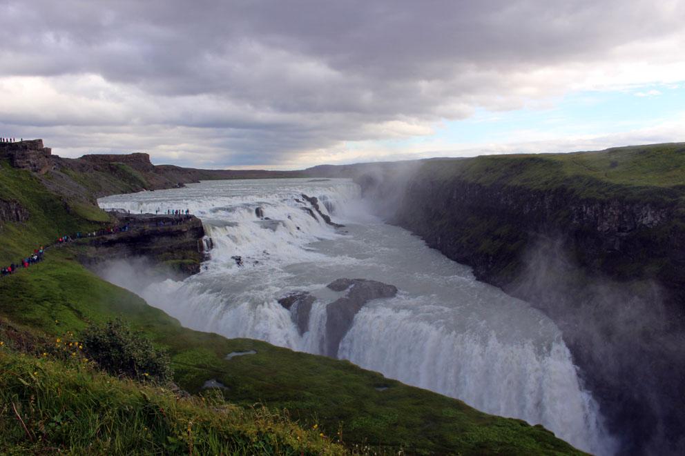 i viaggi della patta-Islanda-gulfoss