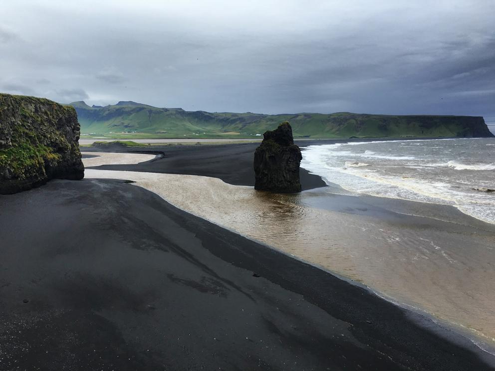 i viaggi della patta-Islanda-Kirkjufjara Beach