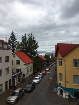 Skólavörðustígur Apartments - la vista dalla nostra camera