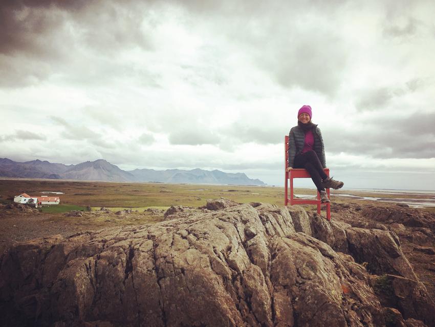i viaggi della patta-Islanda-sedia rossa
