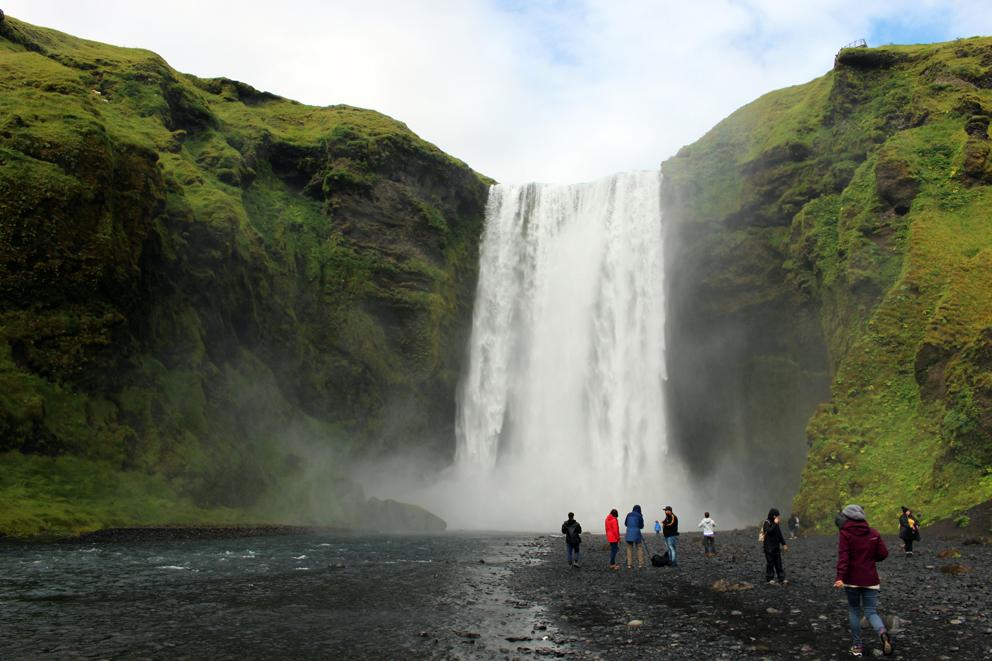 i viaggi della patta-Islanda-skogafoss