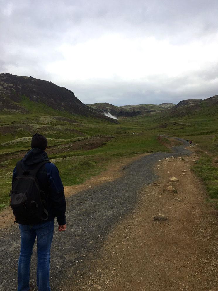 Reykjadalur Hot Spring Thermal River_2